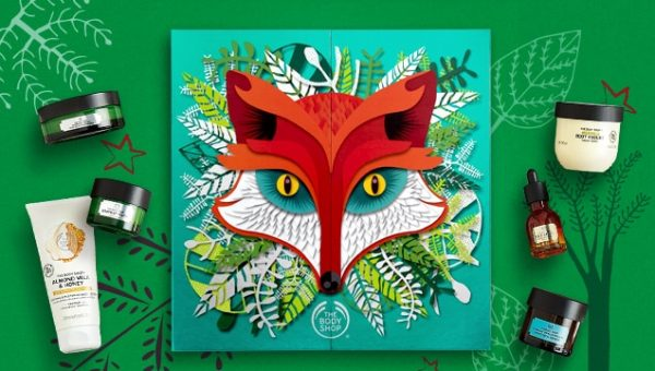 the body shop calendrier de l'avent ultimate