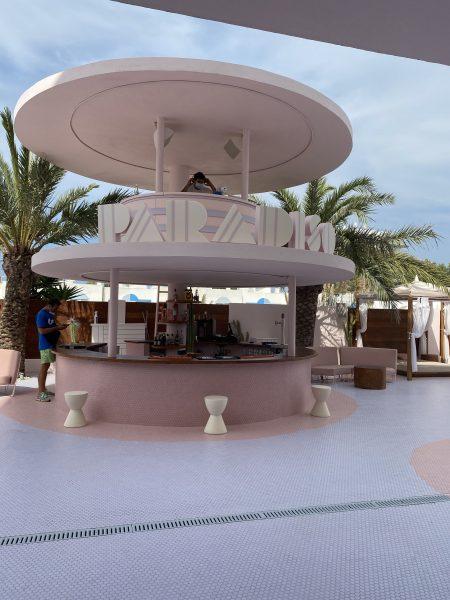 hotel paradiso ibiza bar