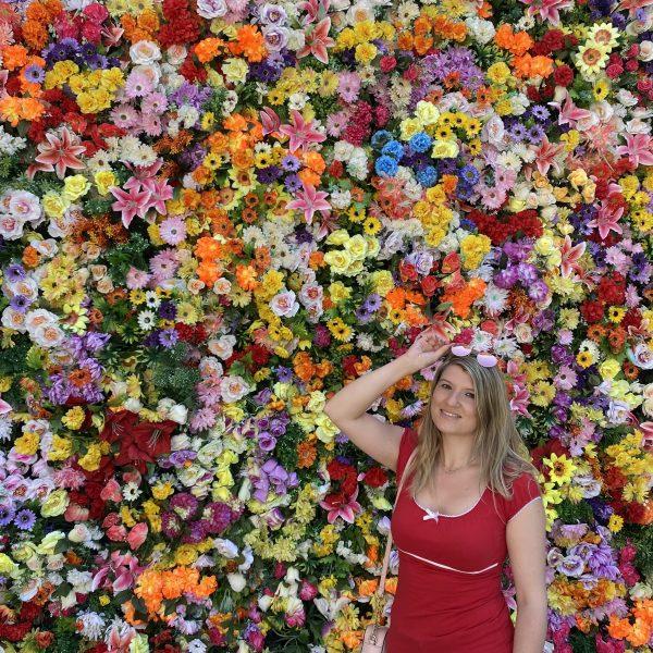 mur de fleurs Lisbonne